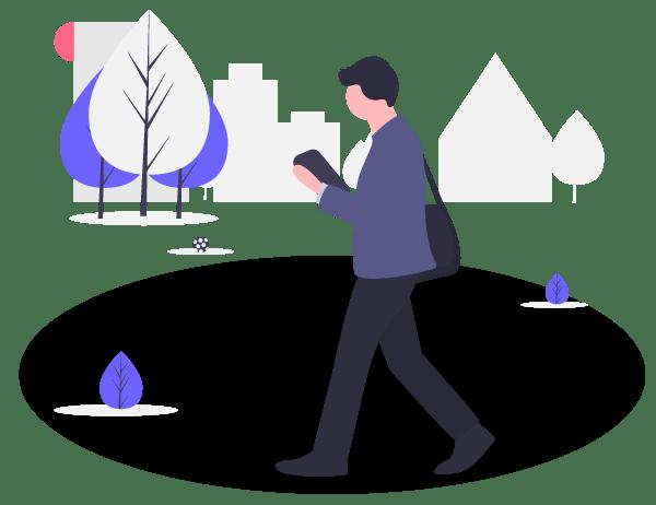 Workspace booking via app