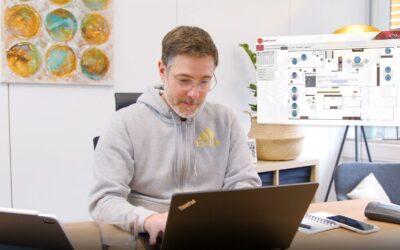Desk Sharing Buchung aus dem HomeOffice